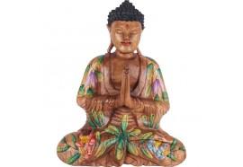 Sculpture Bouddha Déco Offrande 40 cm - Añjali-mudrā
