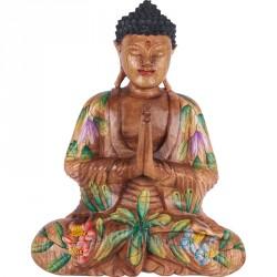 Sculpture Bouddha Déco Offrande - Añjali-mudrā
