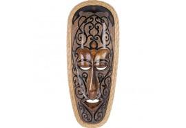 Masque Maori Ponga en bois
