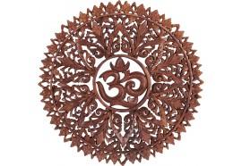 Déco murale Mandala Om 50 cm