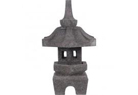 Lanterne japonaise Kuji en pierre volcanique 50 cm