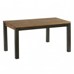 Table repas en chêne & métal Scott L 150 cm CASITA
