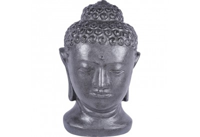 statue bouddha de bali 70 cm en gris pour jardin koh deco. Black Bedroom Furniture Sets. Home Design Ideas