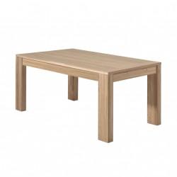 Table salle à manger en chêne Bunbury 160 cm - CASITA