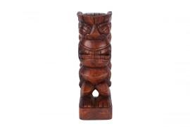 Tiki polynésien KANE en bois 30 cm
