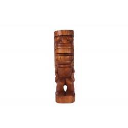 Tiki polynésien KAMALO en bois 50 cm