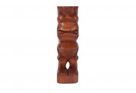 Tiki polynésien KANE en bois 50 cm