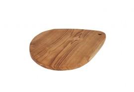 Planche à découper ovale en teck