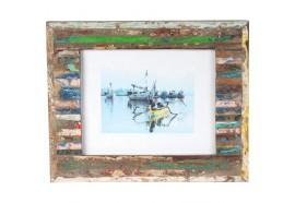 Cadre photo Kadu en bois 30x35 cm