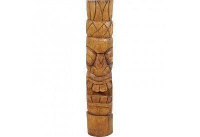 Tiki polynésien kiana en bois 100 cm