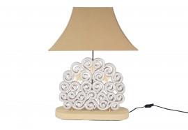 Lampe Spira en bois - Moka
