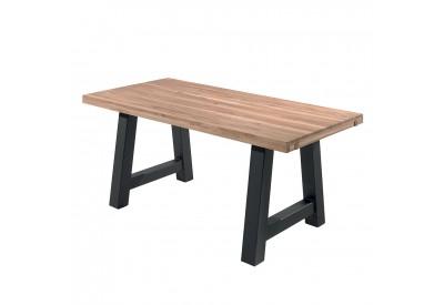 Table Robinson 1m80 en pin & métal - CASITA