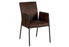 Chaise havane avec accoudoirs - CASITA