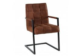 Chaise havane 170HAV avec accoudoirs - CASITA