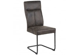 Chaise CHA700GRI en gris - CASITA