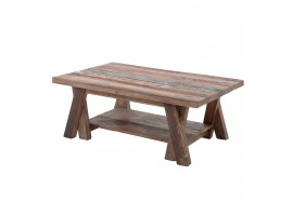 Table basse Leo 120 cm en Teck - CASITA