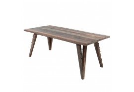 Table à manger Orsena 220 cm en Bois Recyclé - CASITA