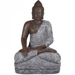 Grande statue Bouddha 150 cm - Bicolore