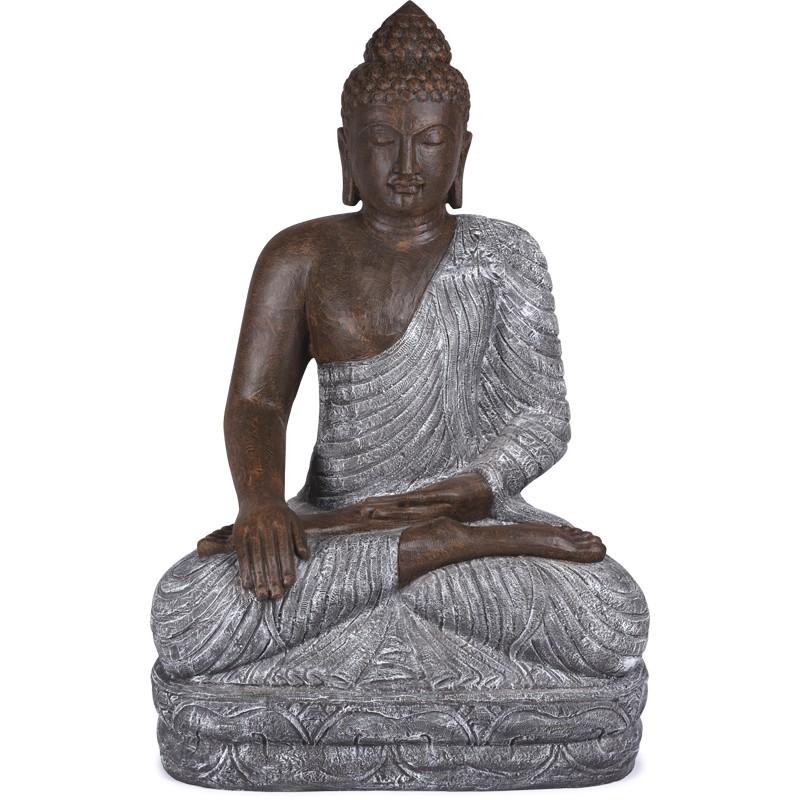 Grande Statue Bouddha 150 Cm Pour Jardin Bali Koh Deco