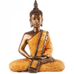 Statue de Bouddha Sukhothai 30 cm - Orange