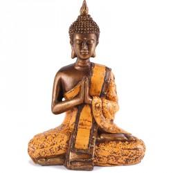 Statue de Bouddha Sukhothai 20 cm - Orange