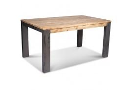 Table à manger 150 cm en bois & métal Toronto - CASITA