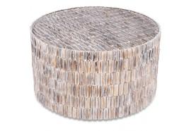 Table basse ronde Zia en albizia Ø 62 cm