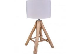 Lampe en bois flotté Tipi - Toile de Jute