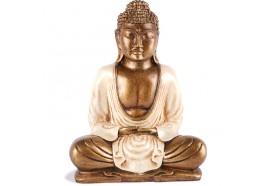 Statue Bouddha Thaïlandais 20 cm - Blanc