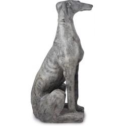 Statue de jardin Lévrier 105 cm - Côté droit