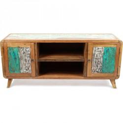 Meuble TV Hena 140 cm en bois recyclé