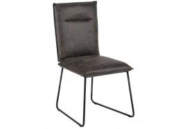Chaise CHA600 en gris - Casita
