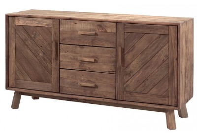 Bahut 2 portes 3 tiroirs en pin Kyrwood - Casita