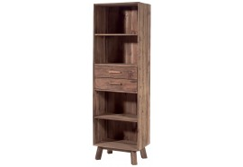 Bibliothèque Larg. 60 cm en pin Kyrwood - Casita