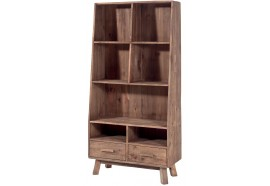 Bibliothèque Larg. 90 cm en pin Kyrwood - Casita