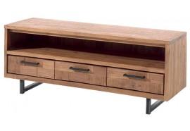 Meuble TV 3 tiroirs en teck Kataya - Casita