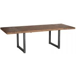 Table en teck Wales 160 cm avec allonges - CASITA