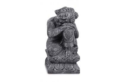 Statue de jardin Bouddha Relax 60 cm - Côté Droit