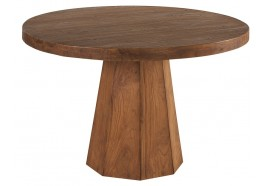 Table ronde Ø 120 cm en teck Caddel - Casita