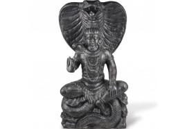 Statue jardin Shiva 150 cm - Gris