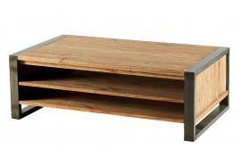 Table basse en bois & métal Toronto - CASITA