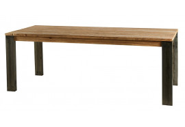 Table à manger 180 cm en bois & métal Toronto - CASITA