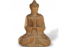 Sculpture Bouddha Offrande 80 cm - Añjali-mudrā