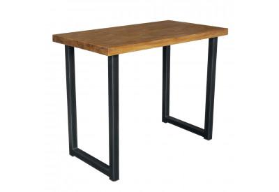 Table haute teck & métal Wales L 140 cm - CASITA