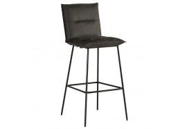 Chaise de bar 800 en gris - Casita