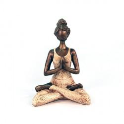 Statue Yogi femme