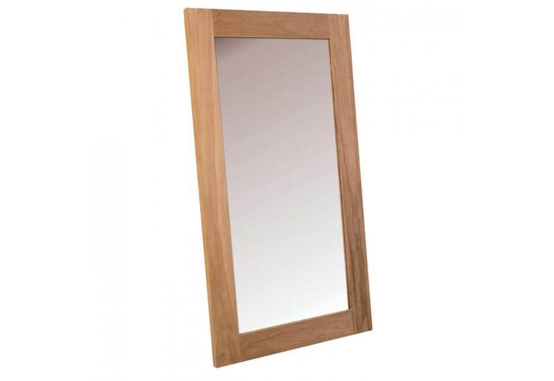 Miroir l 150 cm en teck massif born o casita koh deco for Miroir 150 cm