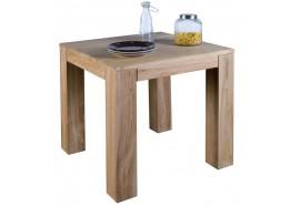 Table carrée L 80 cm en teck BORNÉO CASITA