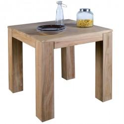 Table carrée en teck Borneo L 80 cm - CASITA