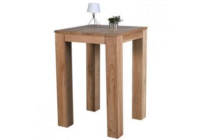 Table mange-debout en teck Borneo L 80 cm - CASITA